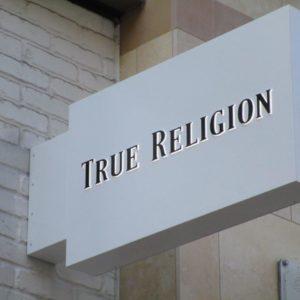 True Religion Blade Sign