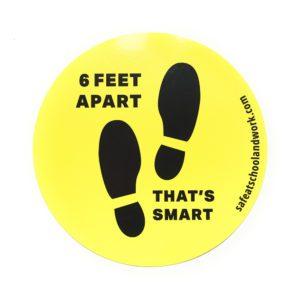 6 Feet Apart Thats Smart