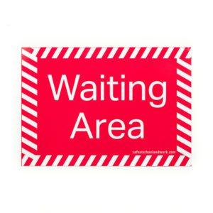 Waiting Area Floor Graphic