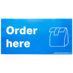 Order Here graphic