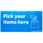 Pick Your Items Here Graphic