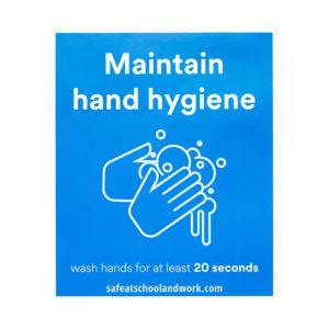 Maintain Hand Hygiene small